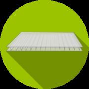 Бесцветный сотовый поликарбонат
