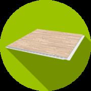 Стеновые панели ПВХ  5 мм
