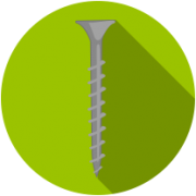 Саморезы гипрок-дерево