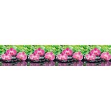 """Интерьерная панель """"Орхидеи эпифиты"""" на основе АBS-пластика"""