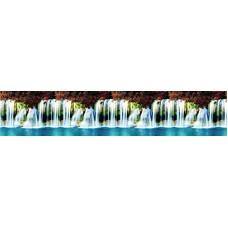"""Интерьерная панель """"Водопад"""" на основе АBS-пластика"""