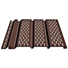 Соффит перф. полностью 3050*305 Docke шоколад