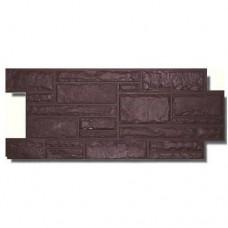 Панель цокольная коричневая (475х1100 мм.)