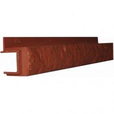 Переходная рейка для цокольной панели кирпич (L - 0,45 м.)