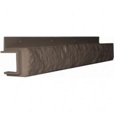 Переходная рейка для цокольной панели глина (L - 0,45 м.)