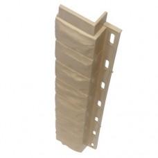 Внутренний угол для цокольной панели кремовый (L - 0,45 м.)