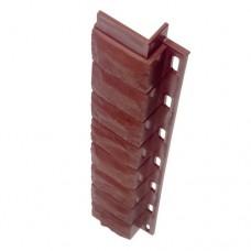 Внутренний угол для цокольной панели кирпич (L - 0,45 м.)