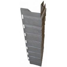 Наружный угол для цокольной панели глина (L - 0,45 м.)