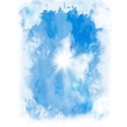 """Плафон потолочный ПВХ LUX """"Небо"""" (ПАННО; ЦЕНА ЗА 8 ПАНЕЛЕЙ)"""