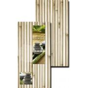 "Панель ПВХ ""Эко бамбук классик + фон"""
