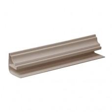 Плинтус (Галтель) для панелей ПВХ 5мм.; бежевый