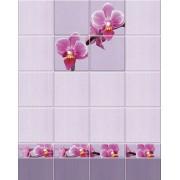 """Панель ПВХ UNIQUE """"Орхидея"""" (панно; цена за 2 панели)"""