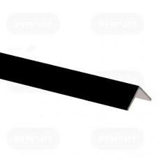 Пристенный кант черный 19*24; L-3.0м