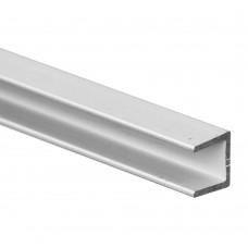Планка торцевая алюминиевая матовая (4*600 мм)