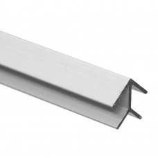 Планка угловая алюминиевая матовая (4*600 мм)