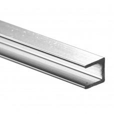 Планка торцевая алюминиевая хром (4*600 мм)