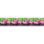 """Интерьерная панель """"Орхидеи"""" на основе АBS-пластика"""