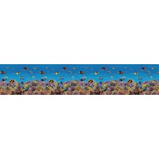 """Интерьерная панель """"Рыбки"""" на основе АBS-пластика"""