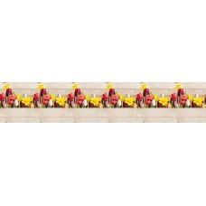 "Интерьерная панель ""Весенние цветы"" на основе АBS-пластика"