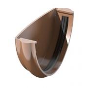 Заглушка желоба ТехноНИКОЛЬ 125/85 коричневый