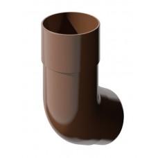 Колено трубы ТехноНИКОЛЬ 135° коричневый