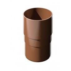 Муфта трубы ТехноНИКОЛЬ 125/85 коричневый