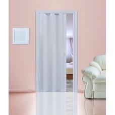 """Дверь-гармошка """"Стиль"""" Белый матовый"""