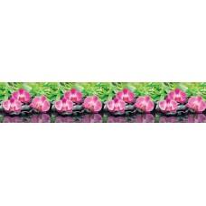 """Интерьерная панель """"Орхидеи Эпифиты"""" из ПВХ пластика;"""