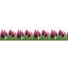 """Интерьерная панель """"Тюльпаны"""" из ПВХ пластика;"""