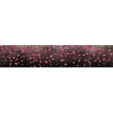 """Интерьерная панель """"Висящие Сады"""" из ПВХ пластика; L-3 м."""